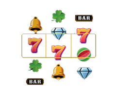 Various Symbols Online Slot Display