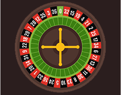 Real money online casino roulette wheel