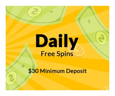 Daily Free Spins Real Money Slots Bonus