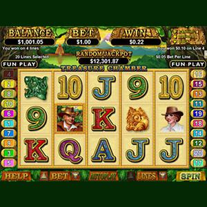 Screen shot Treasure Chamber slot machine