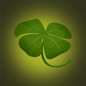 four leap clover good luck