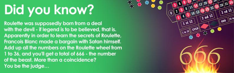did you know how to play roulette