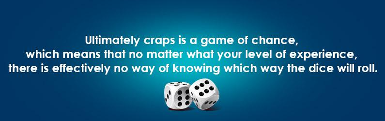 craps quote game of chance