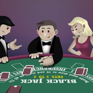 touching cards poker