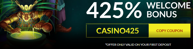 slots machines 425% offer