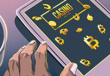 Bitcoin-casino-illustration