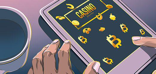 Bitcoin-casino-illustration