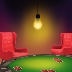 casino-room-with-light-bulb-but-without-windows
