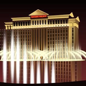 An illustration of Caesars Palace casino