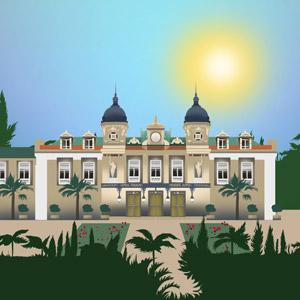 An illustration of Monte Carlo Casino