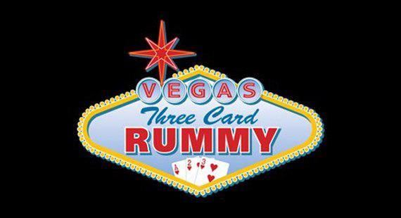 Vegas Three Card Rummy game cover
