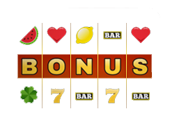 Real money casino bonus display