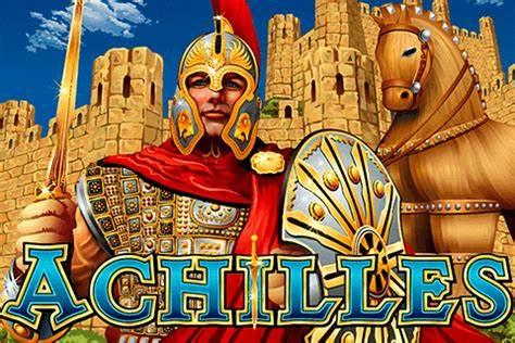 Achilles Deluxe Slot Game Logo